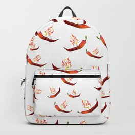 Hot Red Peppers Backpack