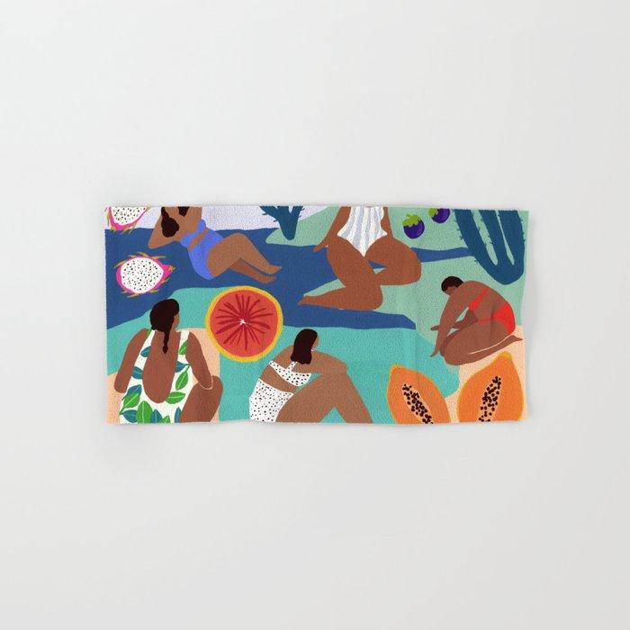 Fruity Bay Hand & Bath Towel