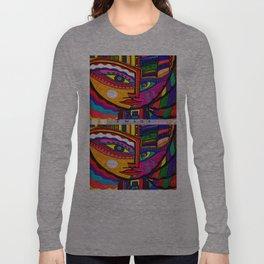 A Solemn Gaze Long Sleeve T-shirt