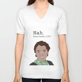 Nah. Rosa Parks Unisex V-Neck
