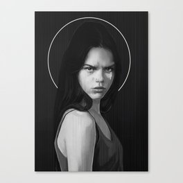 Three parts of soul : logical Canvas Print