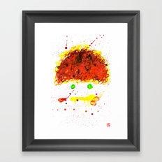 Monster Series=En__Wou Framed Art Print