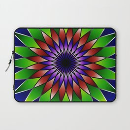Queen of the valley mandala Laptop Sleeve