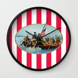 War of Independence Wall Clock