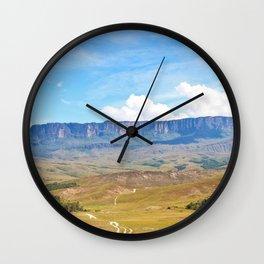 Roraima Tepuy Wall Clock