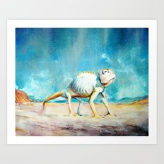 EYGENIA LOGVYNOVSKA, RANGO Art Print