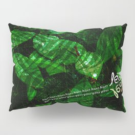 Leaves V1 Pillow Sham
