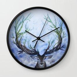RAIN DEER Wall Clock