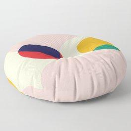 happy shapes Floor Pillow