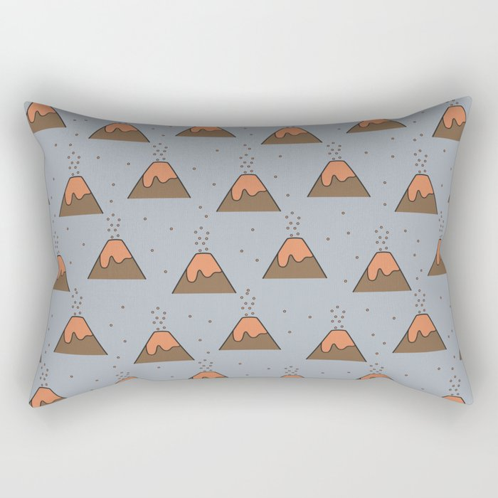 Volcano Pattern #2 Rectangular Pillow