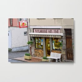 Boulangerie-Patisserie Bakery somewhere in France Metal Print