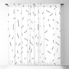 Simple Sprinkles Blackout Curtain