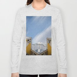Cube houses in Rotterdam Long Sleeve T-shirt