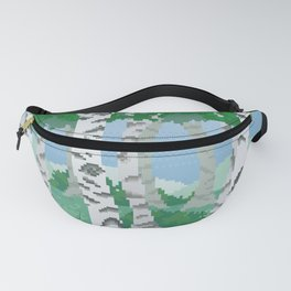 Birch Trees Fanny Pack