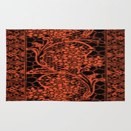Flame Lace Rug