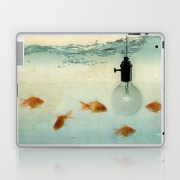 Fishing for ideas Laptop & iPad Skin