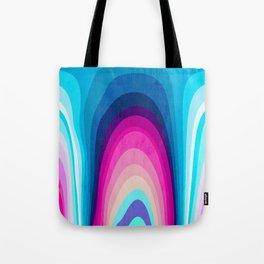Woodwork Rainbow Tree Tote Bag