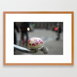 Colorful bike. Framed Art Print
