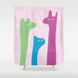 DOODLE - ILLUSTRATION Shower Curtain