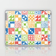 Abstract Squares Primary Laptop & iPad Skin