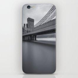 Conwy Suspension Bridge iPhone Skin