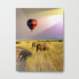 safari life Metal Print