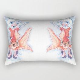 Ready for War Rectangular Pillow