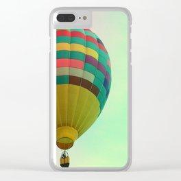 Hot Air Magic Clear iPhone Case
