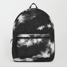 reflections pattern Backpack