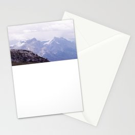 Purple and Pines Stationery Cards