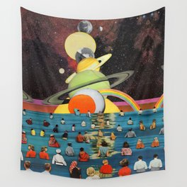 Children of the Sun and Moon Wall Tapestry