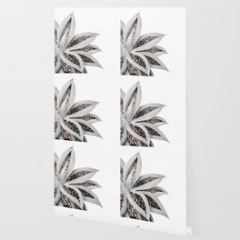 Agave Finesse Glitter Glam #1 #tropical #decor #art #society6 Wallpaper
