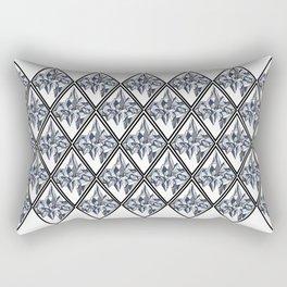 Geometric Glacier Rectangular Pillow