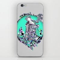cityscape iPhone & iPod Skins featuring Cityscape by infloence