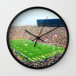 Michigan Stadium Wall Clock