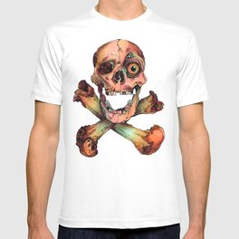 Skull in Color T-shirt