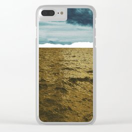 Lost Horizon1 Clear iPhone Case