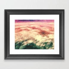 núvols Framed Art Print