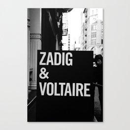 NYC Fashion Heros Canvas Print