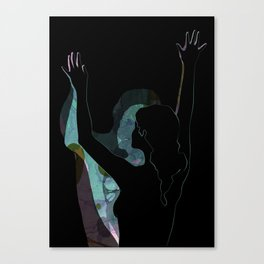 Dancing With Shadows #3 Canvas Print