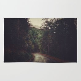 Wander inside the mountains Rug