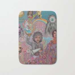 The Flaming Lips - Fear Of Slippery Brains, Electric Toasters & Evil Natured Robots From Outer Space Bath Mat