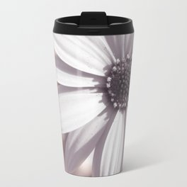 White Daisy Travel Mug