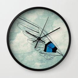 Build Your Wings Wall Clock