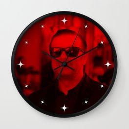 Ricky Gervais - Celebrity (Photographic Art) Wall Clock