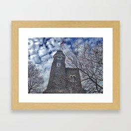 Belvedere Castle Framed Art Print