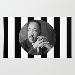Martin Luther king art work Rug