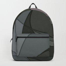 Grey Spiral Sunset Backpack