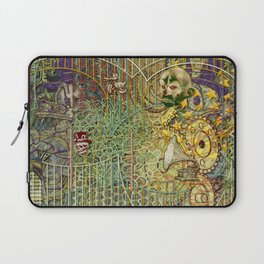 Grinding Out The Mean Layer Laptop Sleeve