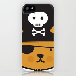 Pirate Cat: Jumpy Icon iPhone Case